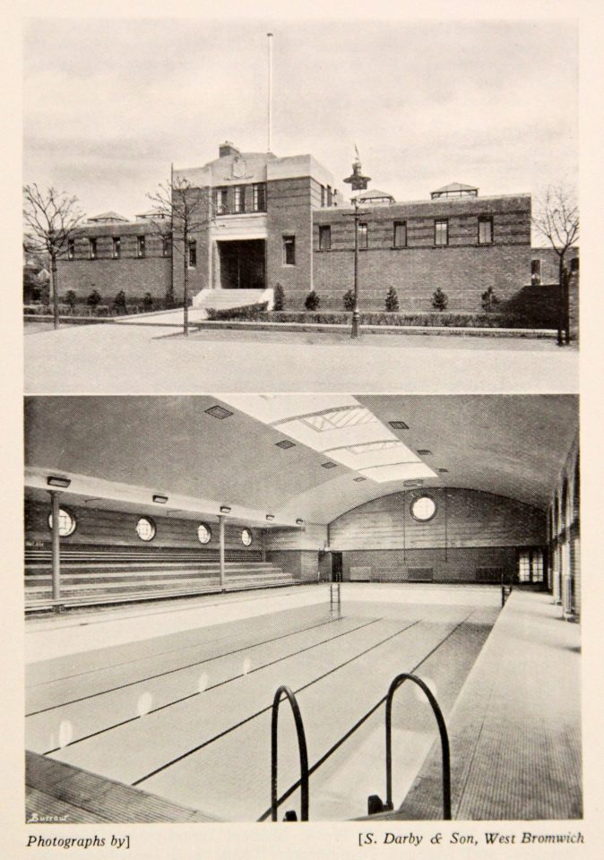 Langley Baths, 1937.