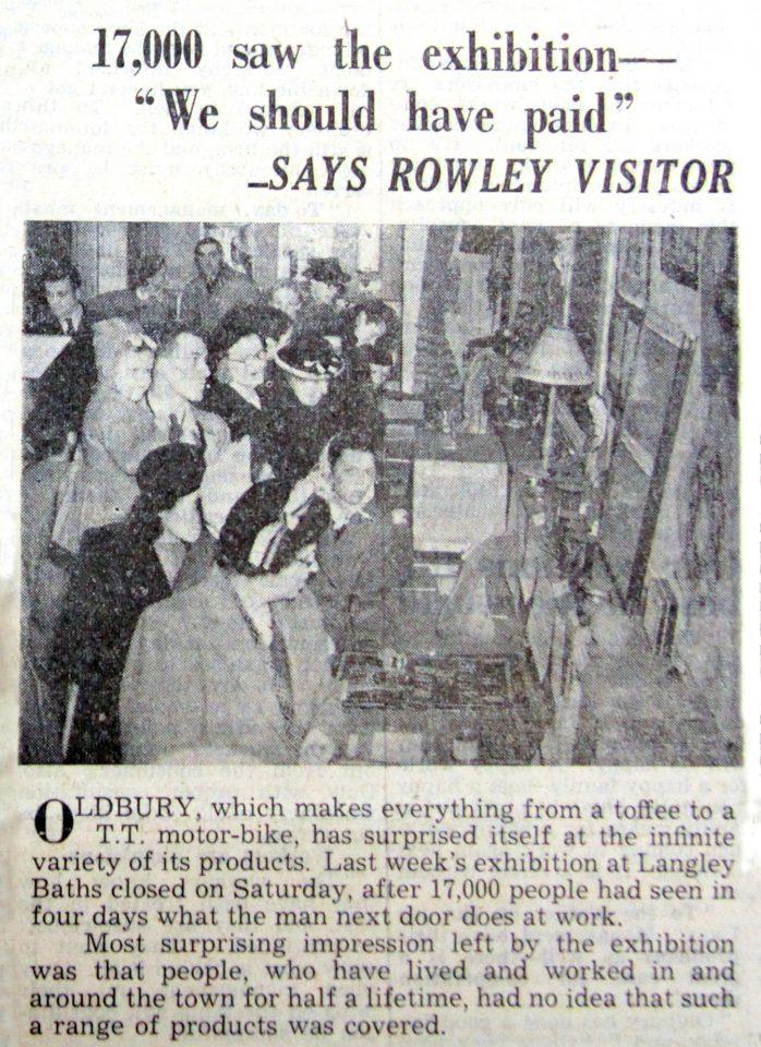Warley News, 1949.