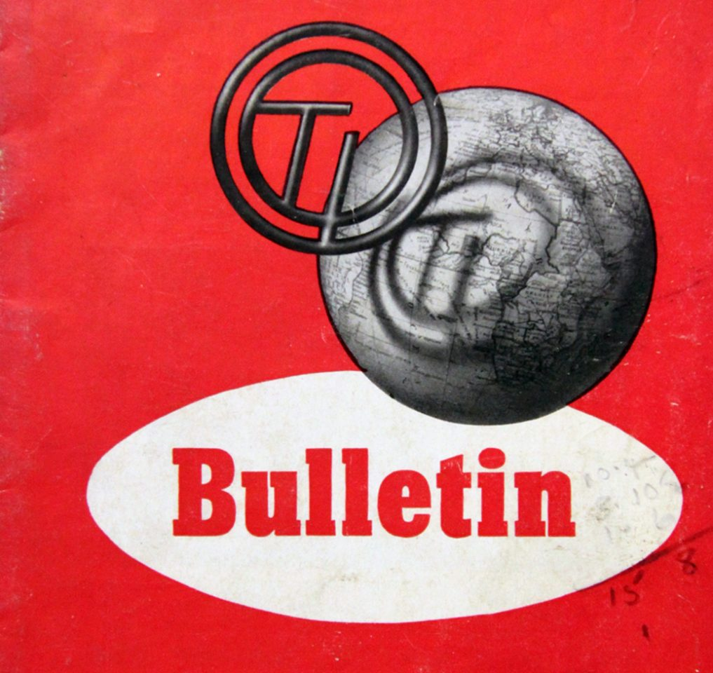 News in Brief, TI Bulletin, December 1948