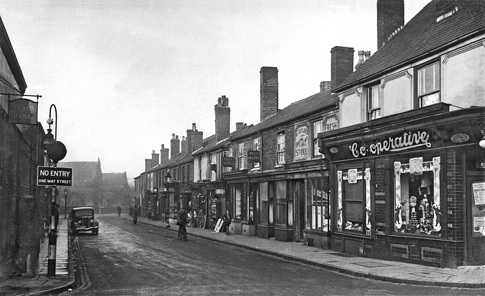 Trinity Street, Langley, circa 1938.