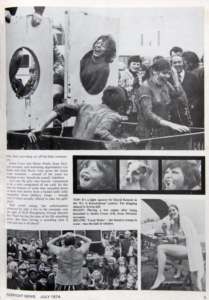 Albright & Wilson Gala Day, 1974.