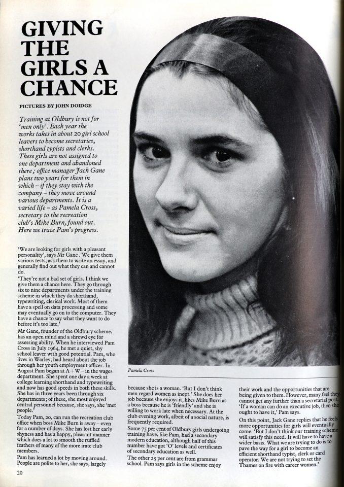 Albright & Wilson News, 1960s.