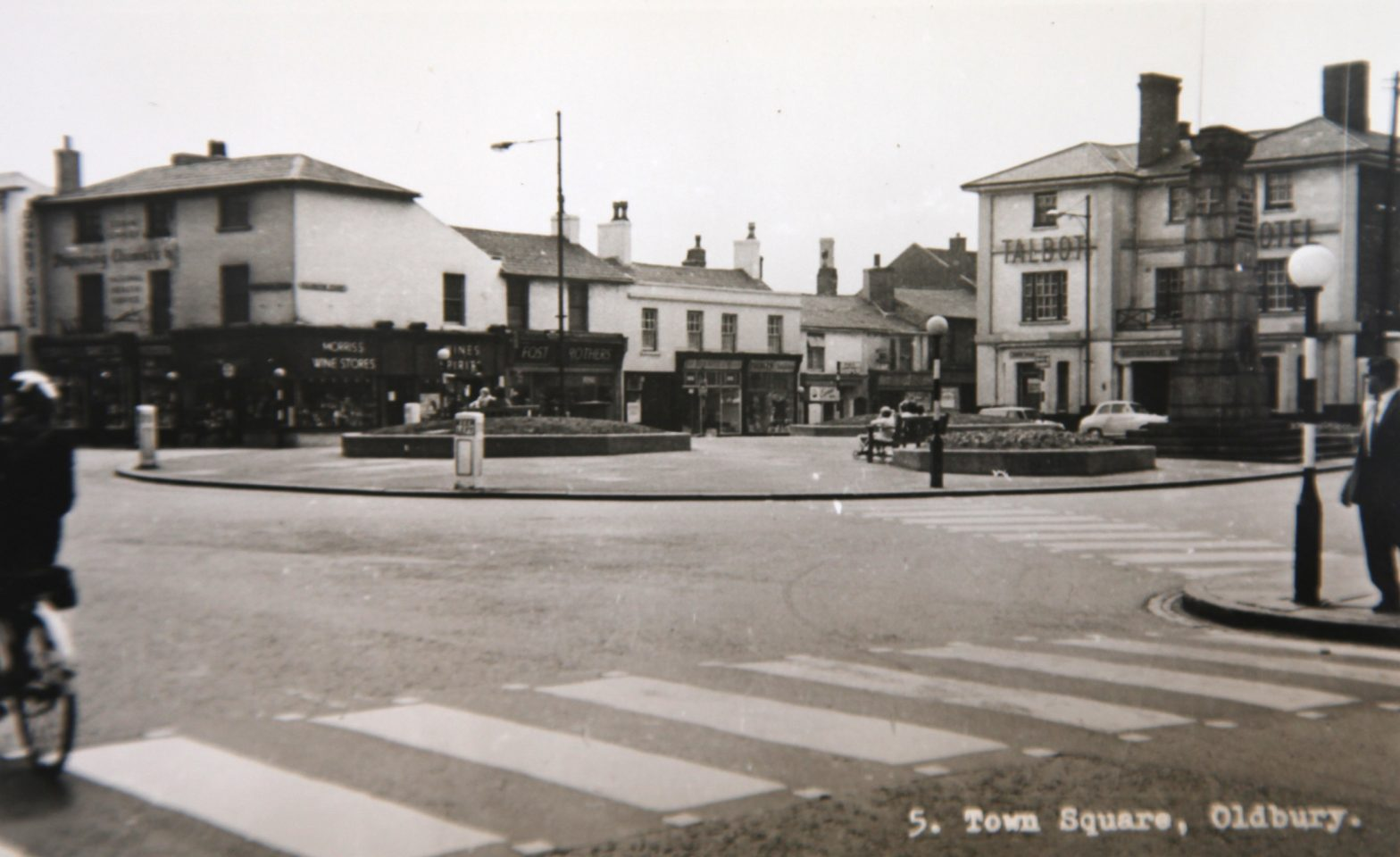 Town Square, late 1950s.