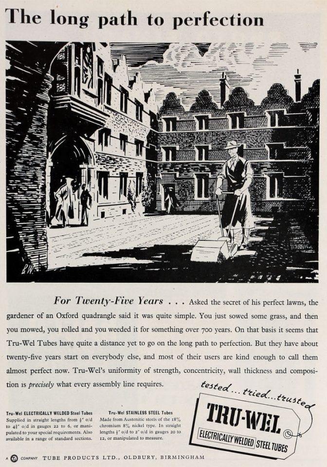 Advertisement, 1952.